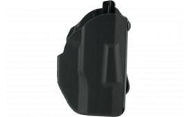 Safariland 737889518411 7378 ALS Paddle Glock 43 w/Light SafariSeven Black
