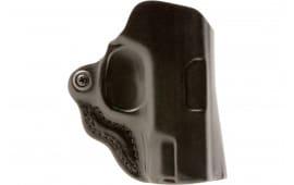 """Desantis Gunhide 019BAO2Z0 Mini Scabbard Taurus 85 2""""/850CIA 2""""/85CH 2"""" Leather Black"""