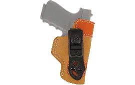 Desantis Gunhide 106NAC9Z0 Sof-Tuck RH HK Full Size 9mm/40Cal Saddle Leather/Suede Tan