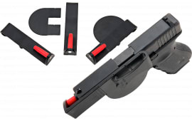 "Versacarry 40SM Semi-Auto 40 Smith & Wesson Small 3.5"" Barrel Resin/Delrin Black/Red"