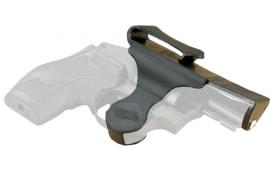"Versacarry 38SM Revolver 38 Spc/357 Mag Small 2.5"" Barrel Revolver #5 Shot Resin/Delrin Black/Yellow"
