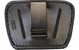 Peace Keeper 036BLK Belt Slide Inside/Outside Pants Small/Medium Frame Auto High Grade Leather Black