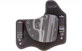 "Homeland HLHSIGP228 Homeland Hybrid Sig 228 3.9"" Barrel Leather Black"