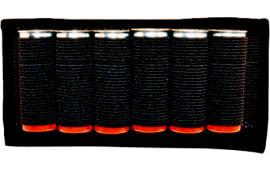 Grovtec US Inc GTAC87 Cartridge Slide Holder Any Shotgun Ammo Black Elastic/Nylon