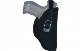 "Grovtec GTHL14736R Hip Hlst 36 RH Black Nylon 2"" Barrel Sm Frame 5-Shot Revolver"