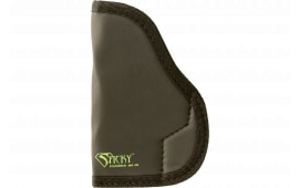"Sticky Holsters LG-2 Large Auto 4.1"" Barrel Frame Auto Latex Free Synthetic Rubber Black w/Green Logo"