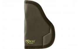 Sticky Holsters MD-4 Sub-Compact Models with Laser Medium Latex Free Synthetic Rubber Black w/Green Logo