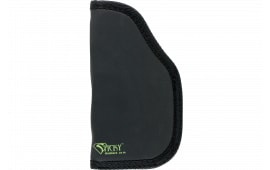 Sticky Holsters LG-6L Large Autos with Laser Latex Free Synthetic Rubber Black w/Green Logo