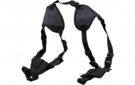 Bulldog WSHD20 Dlx Shoulder Harness w/Sz 20 Holster Black Nylon