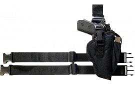 Bulldog WTAC8R Tactical Holster Large Black Knit Fabric