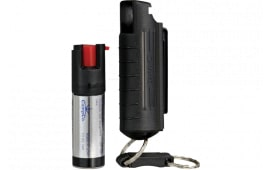 SW Pepper Spray 1403 Pepper Spray 15% Plastic Keychain Case .5oz Black