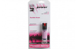 Udap PK1 Pink Keychain Pepper Spray .4oz/11g 10 Feet Pink