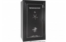 "Winchester Safes L7242537E Legacy 53 Gun Safe 72"" H x 42"" W x 30"" D (Exterior) Electronic Lock Black"