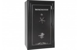 "Winchester Safes L7242537M Legacy 53 Gun Safe 72"" H x 42"" W x 30"" D (Exterior) Mechanical Lock Black"