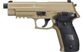Sig Sauer Airguns 226F P226 Air Pistol DA/SA .177 Pellet Black/FDE