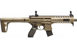 Sig Sauer Airguns MCX Scope Air Rifle Semi-Auto .177 Pellet Black/FDE