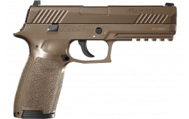 Sig Sauer Airguns P320 Air Pistol Semi-Auto .177 Pellet/BB Coyote
