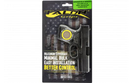 Talon 207M Springfield XD-S 9/45 Rubber Adhesive Grip Textured Moss