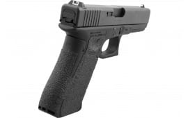 Talon 383R Glock 19 Gen 5 Rubber Adhesive Grip with Medium Backstrap Textured Rubber Black