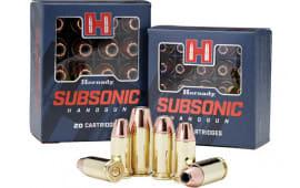 Hornady 90971 Subsonic 45 ACP 230 XTP Subsonic - 20rd Box