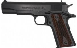 "Colt O1911C-38 Govrnmnt 38SUP 5"" BL"