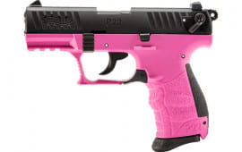 "Walther 5120756 P22Q .22LR 3.4"" AS10rdHOT Pink Polymer"