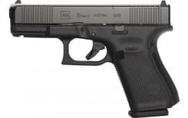 Glock 19 Gen 5 9MM Semi-Auto Pistol, Fixed Sight,15 Round W / FRONT Serrations