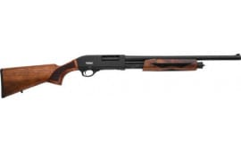 "LKCI P12M Omega Pump Shotgun 20"" Barrel 3"" 4+1SH Black/WALNUT Shotgun"