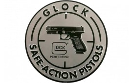 Glock AD00060 Safe Action Aluminum Glock Promo Sign Silver/Black