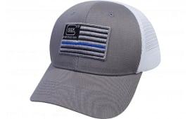 Glock AS10071 Blue Line Flag Mesh Snapback HAT