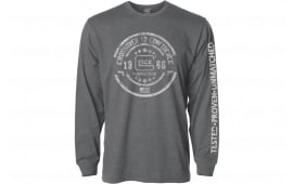 Glock AP95795 Crossover Long Sleeve Gray Large