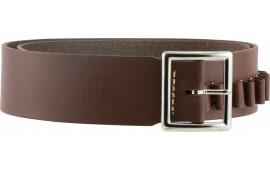"Hunter Company 1451L Cartridge Belt 2"" 45 Cal Large 40-45 Leather Brown"