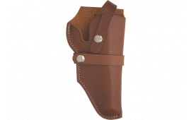 """Hunter Company 1190 Fits 3"""" Barrel and 3"""" Cylinder Brown Leather"""