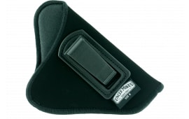 """Uncle Mikes 8900 Inside the Pants Open Style Holster 2-3"""" Barrel Small/Medium Double Action Revolver Suede Black"""