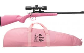 Crickett 2220BSC Pink Synthetic PKG Scope Mount Case