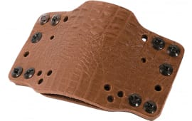 Limb 12526 CRSS Tech Hlster Leather Clip ON LT BRN