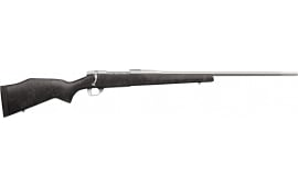 """Weatherby VCC300WR4O Vanguard Accuguard Bolt 24"""" 3+1 Black w/Grey Spiderweb Synthetic Stock SS"""