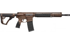 "Daniel Defense 15126055 DDM4 M4A1 *CA Compliant* Semi-Auto 14.5"" 10+1 6-Position Brown Stock Brown Cerakote/Black Phosphate"