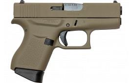 Glock UI4350201CKFDE G43 FS US 6rd FDE