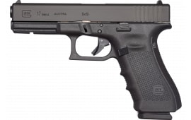 "Glock UG1750203 G17 Gen 4 Double 4.48"" 17+1 Black"