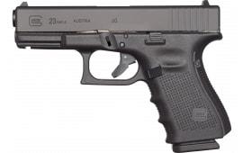 """Glock UG2350201 G23 Gen 4 Compact Double 4"""" 10+1 Black"""