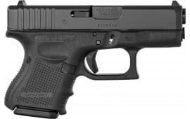 "Glock UG2650201 G26 Double 3.4"" 10+1 Black Grip Black"