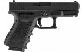 "Glock UI2350201 G23 Compact Double 4"" 10+1 Black"