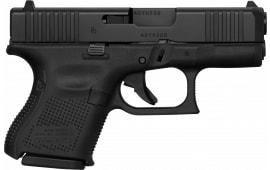 Glock Model 26, 9mm Semi-Auto, GEN-5, FS, 10 Round Black Front Serrations - HGN-GLK-PA175S203