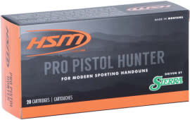 HSM 10MM15N20 PRO Pistol 10MM 180 Jacketed Hollow Point - 20rd Box