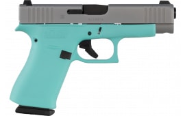 Glock PA485SL701REFR G48 GNS SLVRSL/REFR 10rd
