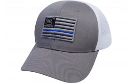 Glock AS10071 Blue Line Flag Mesh Snapback HAT