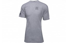 Glock AP95684 WE GOT Your SIX Grey Tshirt 2XLRG