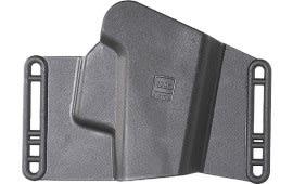 Glock HO17043 Sport/Combat Belt Slide Small Glock 17/19/22/23/26/27/31/32/33/34/35 Polymer Black Card Pkg