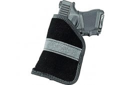 Uncle Mikes 8744 Inside The Pocket Holster Suede Black Sub-Compact 9mm/40 Auto